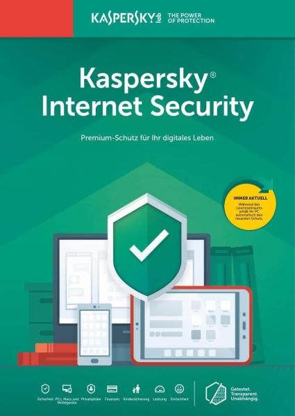 Kaspersky Internet Security 2021 1 PC / 1 Jahr
