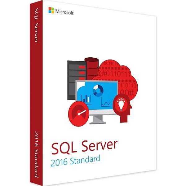 Microsoft SQL Server 2016 Standard ESD Download